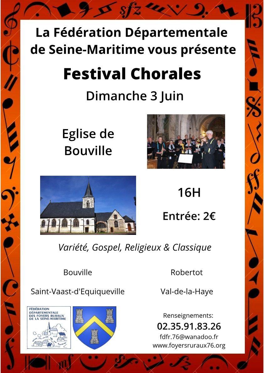 Festival Chorale – 3 Juin 2018