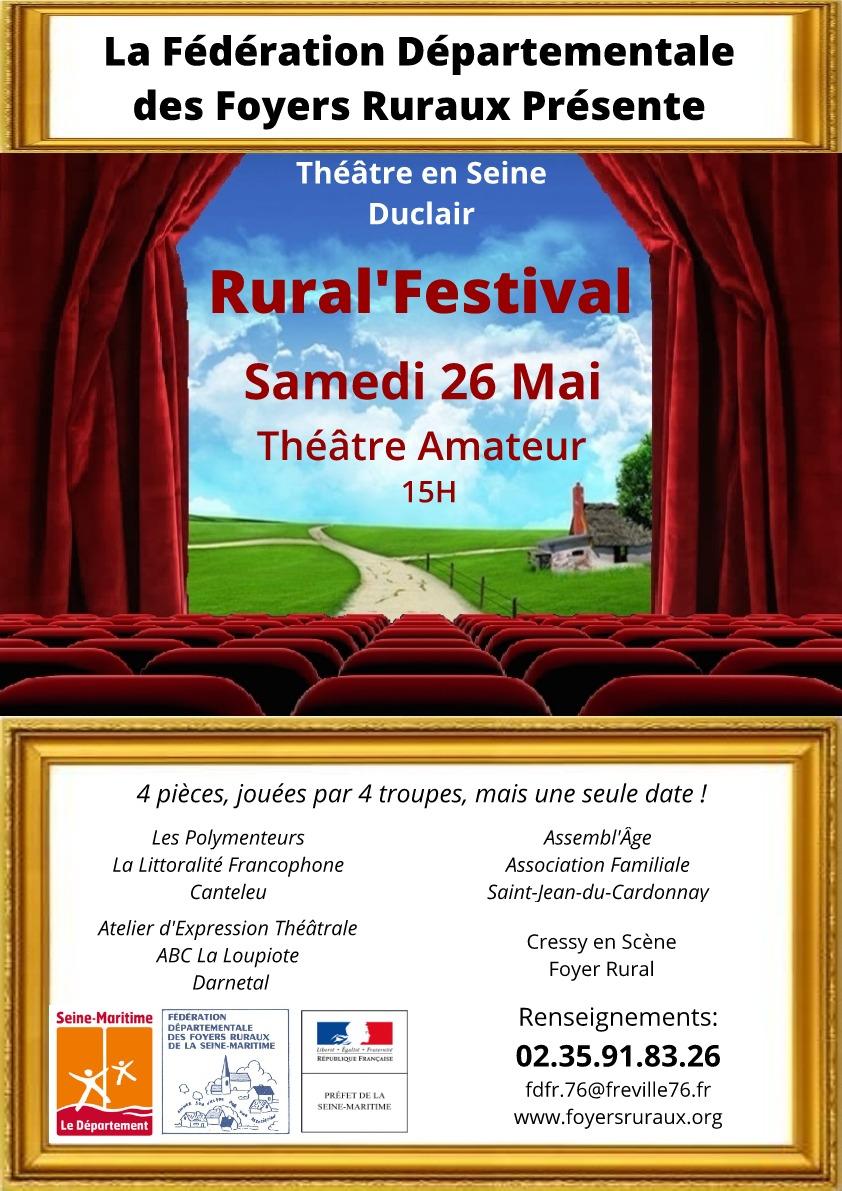 Rural'Festival – 26 Mai 2018